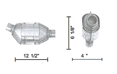 LEV AND CLEANER EMISSION PLATFORMS UNIVERSAL CONVERTER UNIVERSAL CONVERTER Discount Catalytic Converters