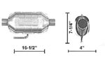 609007 Catalytic Converters Detail